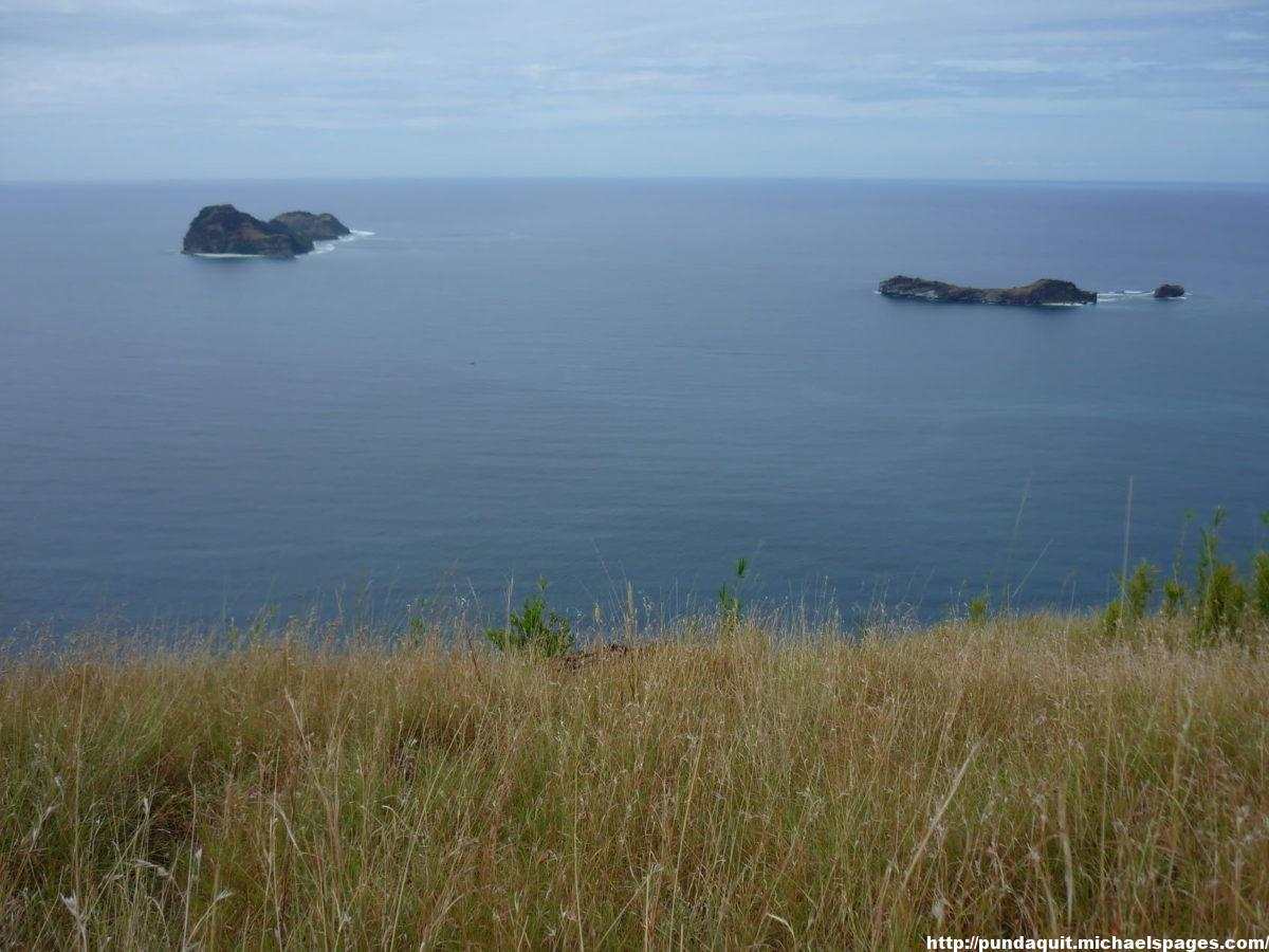 Capones Island and Camara Island seen from view point